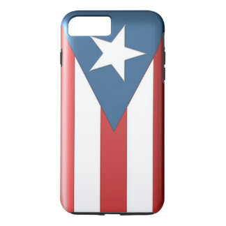 プラスプエルトリコの旗の箱のiPhone 7 iPhone 8 Plus/7 Plusケース