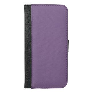 プラスモダンでカスタマイズ可能なラベンダーの紫色のiPhone 6 iPhone 6/6s Plus ウォレットケース