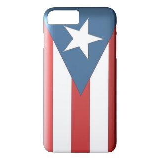 プラス新しいiPhone 7のためのプエルトリコの旗の箱!! iPhone 8 Plus/7 Plusケース