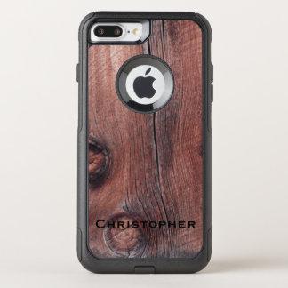 プラス素朴で赤い納屋のオッターボックスの通勤者のiPhone 7 オッターボックスコミューターiPhone 8 Plus/7 Plusケース