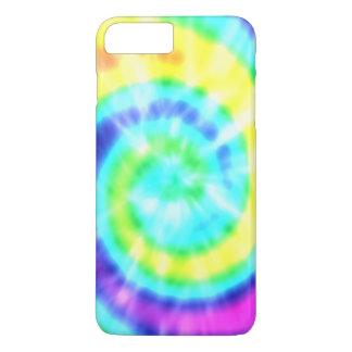 プラス虹のヒッピーの絞り染めのiPhone 7 iPhone 8 Plus/7 Plusケース