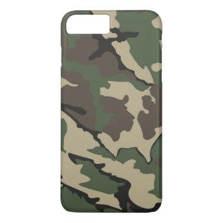プラス迷彩柄のiPhone 7やっとそこに場合 iPhone 7 Plusケース