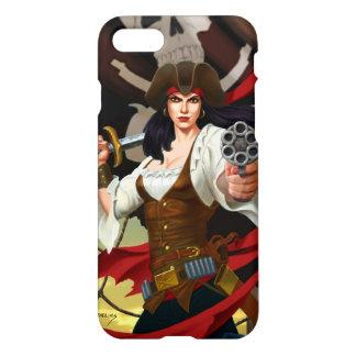 """プラスFlynnの""""海賊旗""""のiPhone 7/6に与えて下さい iPhone 8/7 ケース"""