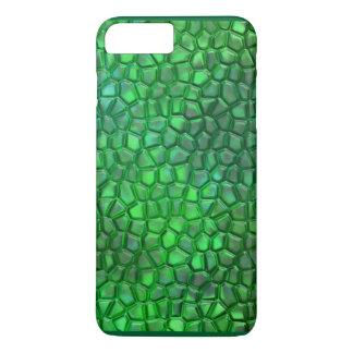 プラスiPhone 7のための蛍光ハ虫類の例 iPhone 8 Plus/7 Plusケース