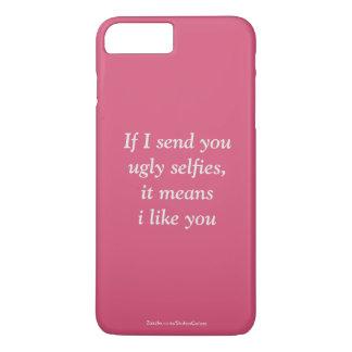 プラスSelfiesの醜いiPhone 7 iPhone 8 Plus/7 Plusケース