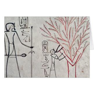 プラタナスの木に変形するIsis カード