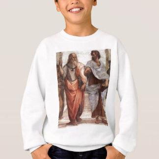 プラトンおよびアリストテレス スウェットシャツ