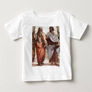 プラトンおよびアリストテレス ベビーTシャツ