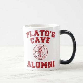 プラトンの洞窟の卒業生のマグ モーフィングマグカップ