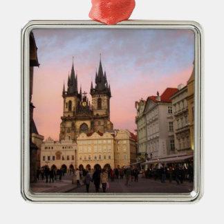 プラハのチェコスロバキア共和国のオーナメント メタルオーナメント