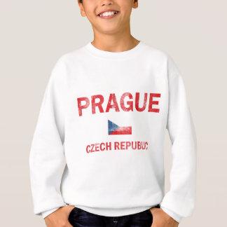 プラハのチェコスロバキア共和国のデザイン スウェットシャツ