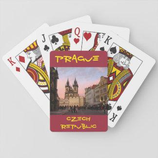 プラハのチェコスロバキア共和国のトランプ トランプ