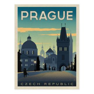 プラハのチェコスロバキア共和国 ポストカード