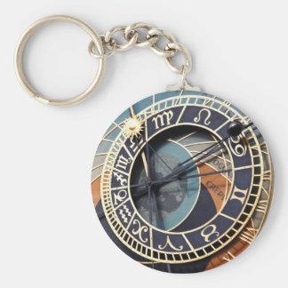 プラハの天文時計のkeychain キーホルダー