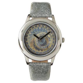 プラハの天文時計 腕時計