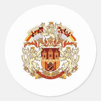 プラハの紋章付き外衣 ラウンドシール