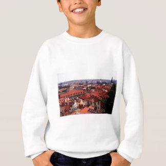 プラハの赤の屋根 スウェットシャツ