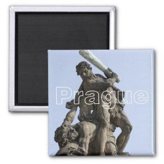 プラハ旅行写真の記念品の冷蔵庫用マグネット マグネット