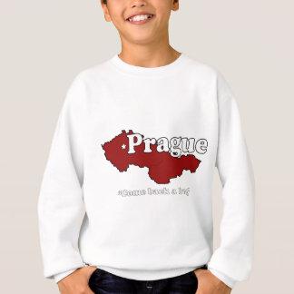 プラハ: 虫はもどって来ます スウェットシャツ