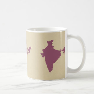 プラムスパイスの気分インド コーヒーマグカップ
