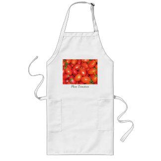 プラムトマト ロングエプロン