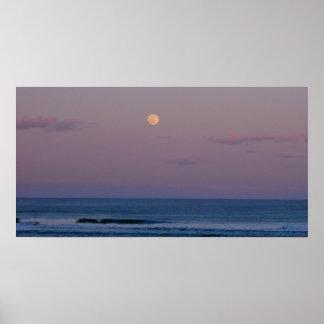 プラム島のMoonrise ポスター
