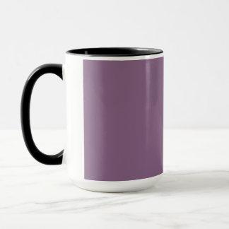 プラム無地 マグカップ