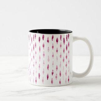 プラム羽 ツートーンマグカップ
