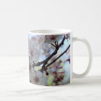 プラム花 コーヒーマグカップ