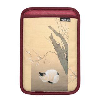プラムc.1906の下の日本のな猫は活気付きます iPad miniスリーブ