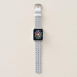 プリズムパターン白黒Appleの時計バンド Apple Watchバンド
