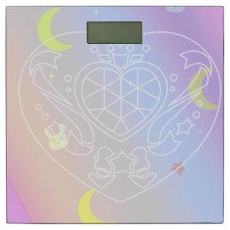 プリズム虹のハートのスケール 体重計