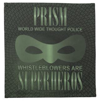 プリズム-世界的な思考の警察 ナプキンクロス