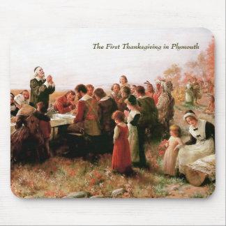 プリマスのマウスパッドの最初の感謝祭 マウスパッド