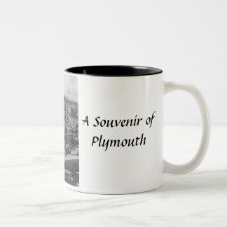 プリマスの記念品のマグ ツートーンマグカップ