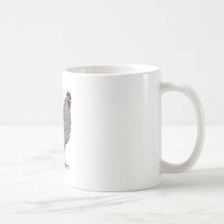 プリマスロックの鶏のスケッチ コーヒーマグカップ