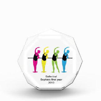 プリマバレリーナ第1年賞 表彰盾