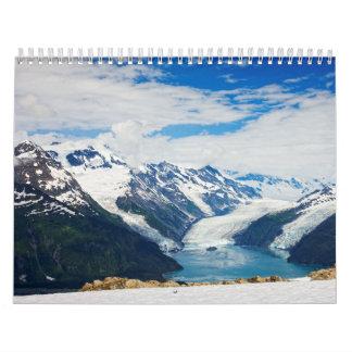 プリンス・ウィリアム湾アラスカ カレンダー