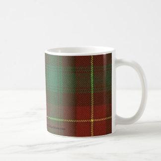 プリンス・エドワード・アイランドのタータンチェックのマグ コーヒーマグカップ