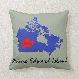 プリンス・エドワード・アイランドの青は愛をカスタマイズ クッション