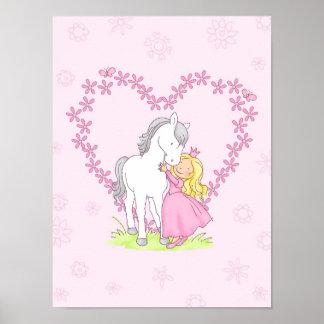 プリンセスおよび馬 ポスター