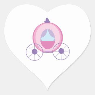 プリンセスのコーチ ハートシール