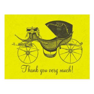 プリンセスのベビーシャワーは感謝していしています ポストカード
