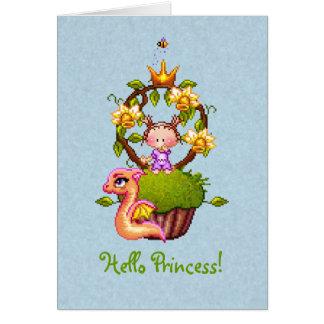 プリンセスのマフィン カード