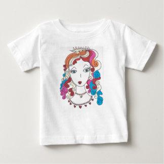 プリンセスの人魚 ベビーTシャツ