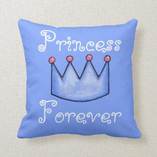 プリンセスの友達(青いコレクション) クッション
