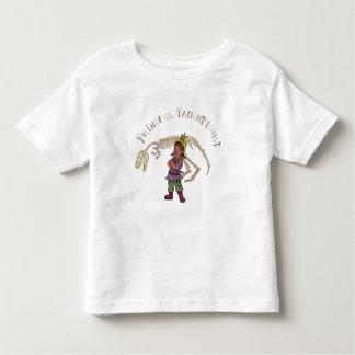 プリンセスの古生物学者 トドラーTシャツ