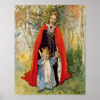 プリンセスの春の母および娘 ポスター