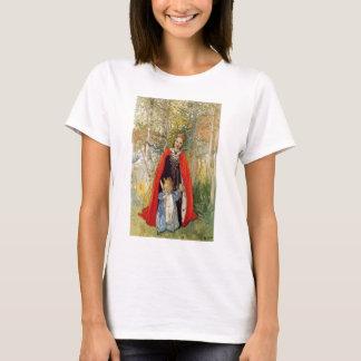 プリンセスの春の母および娘 Tシャツ
