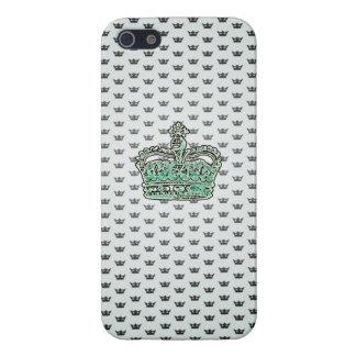 プリンセスの王冠のIphoneの場合-水の緑 iPhone SE/5/5sケース